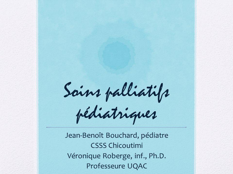 Soins palliatifs pédiatriques