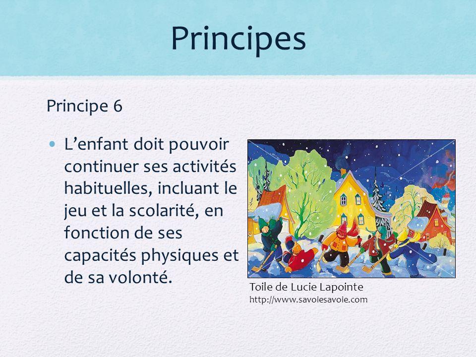 Principes Principe 6.