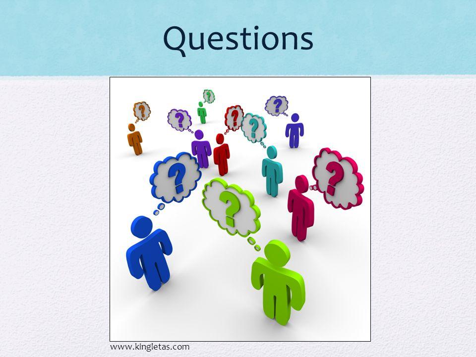 Questions www.kingletas.com