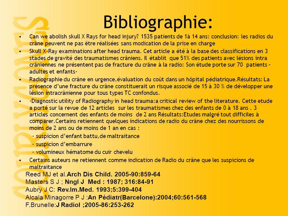 Bibliographie: Reed MJ et al.Arch Dis Child. 2005-90:859-64