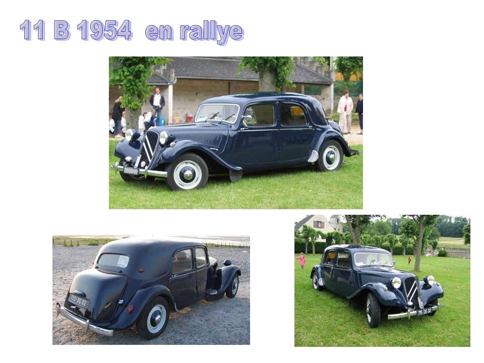 11 B 1954 en rallye