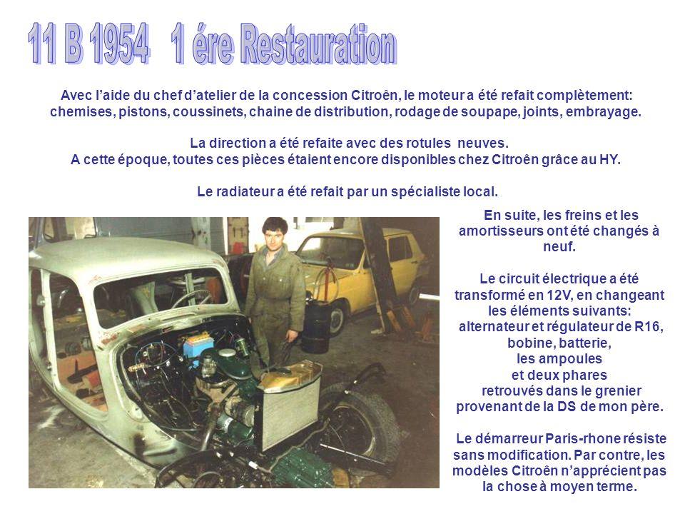 11 B 1954 1 ére Restauration