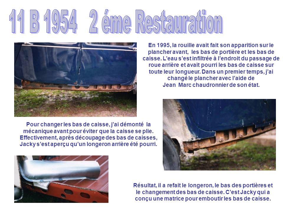 11 B 1954 2 éme Restauration