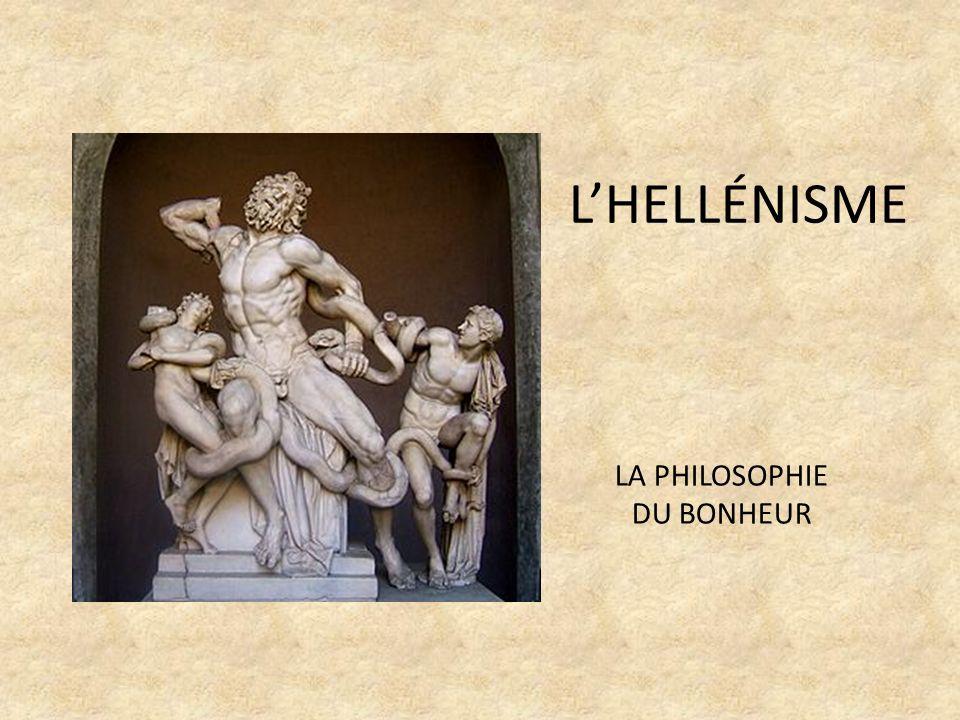 LA PHILOSOPHIE DU BONHEUR