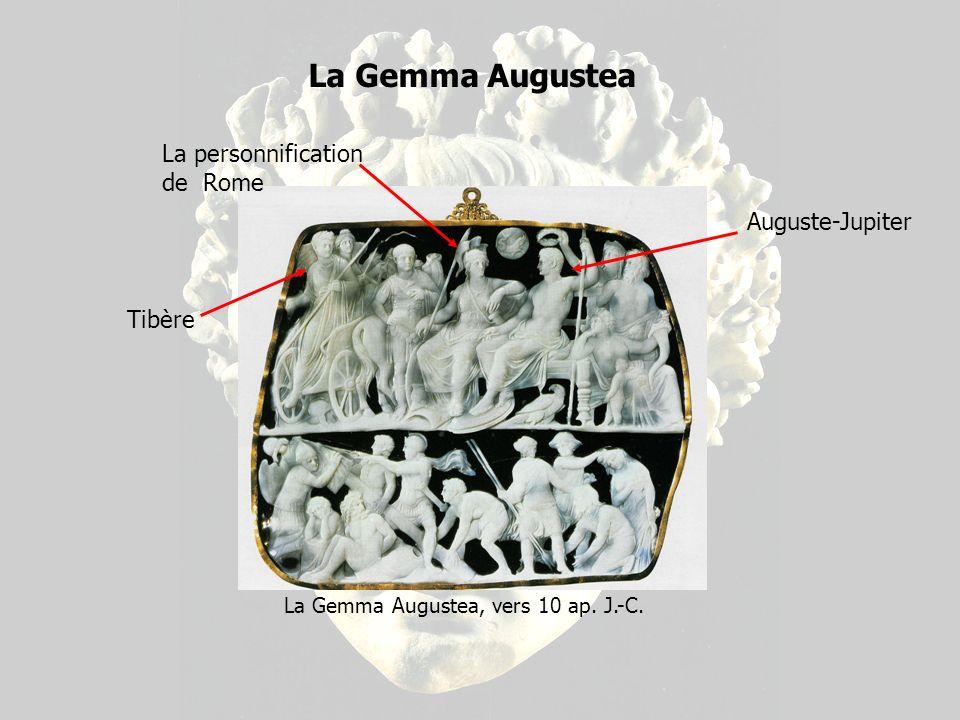 La Gemma Augustea, vers 10 ap. J.-C.