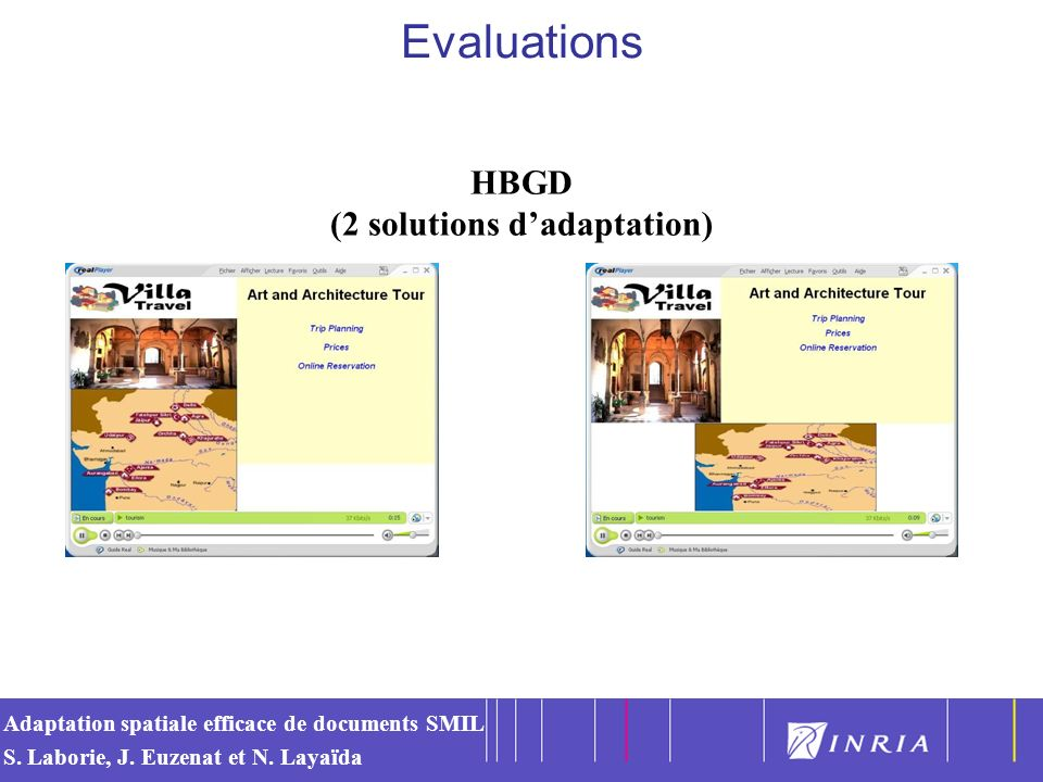 HBGD (2 solutions d'adaptation)