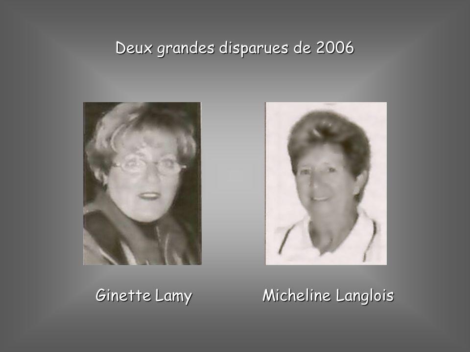Deux grandes disparues de 2006