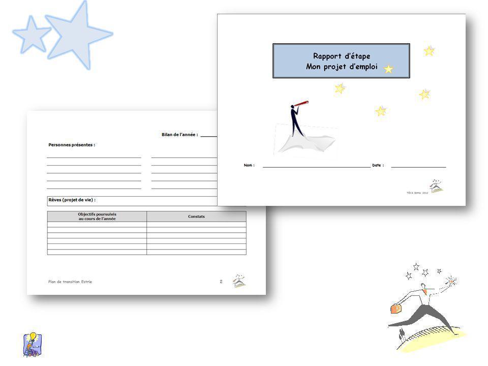 Finalement, le Rapport d'étape décrit les résultats obtenus et permet d'ajuster ou de modifier les actions à venir.
