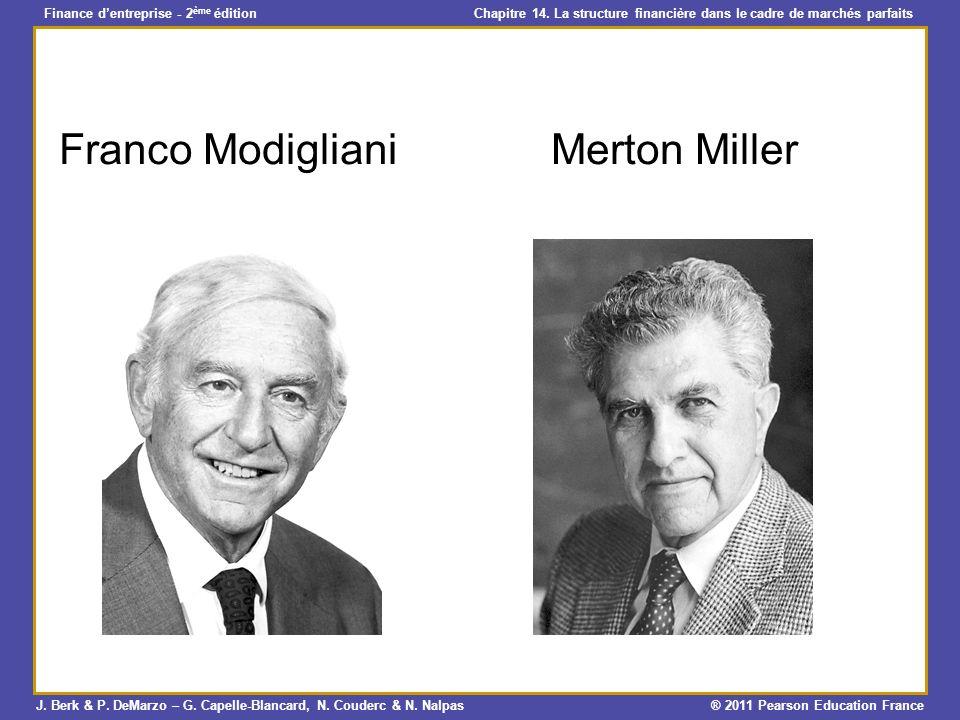 Franco Modigliani Merton Miller