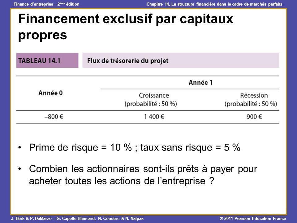 Financement exclusif par capitaux propres