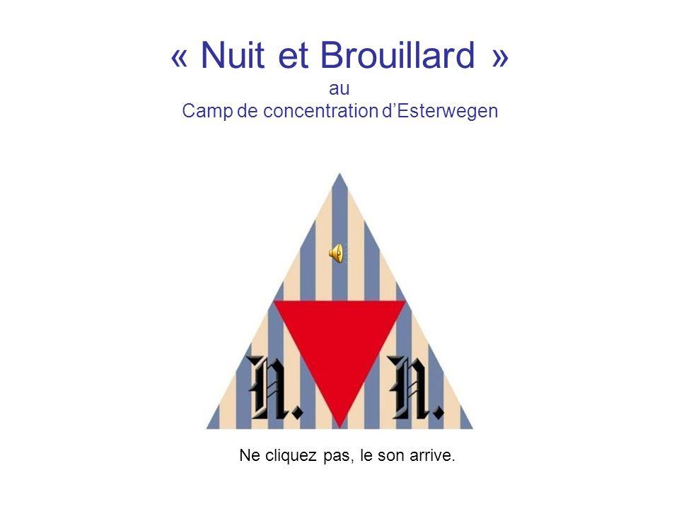 « Nuit et Brouillard » au Camp de concentration d'Esterwegen