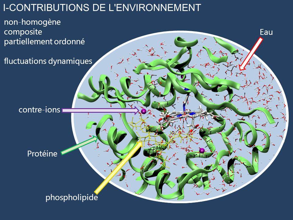 I-CONTRIBUTIONS DE L ENVIRONNEMENT