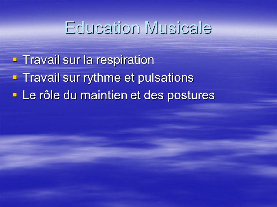 Education Musicale Travail sur la respiration