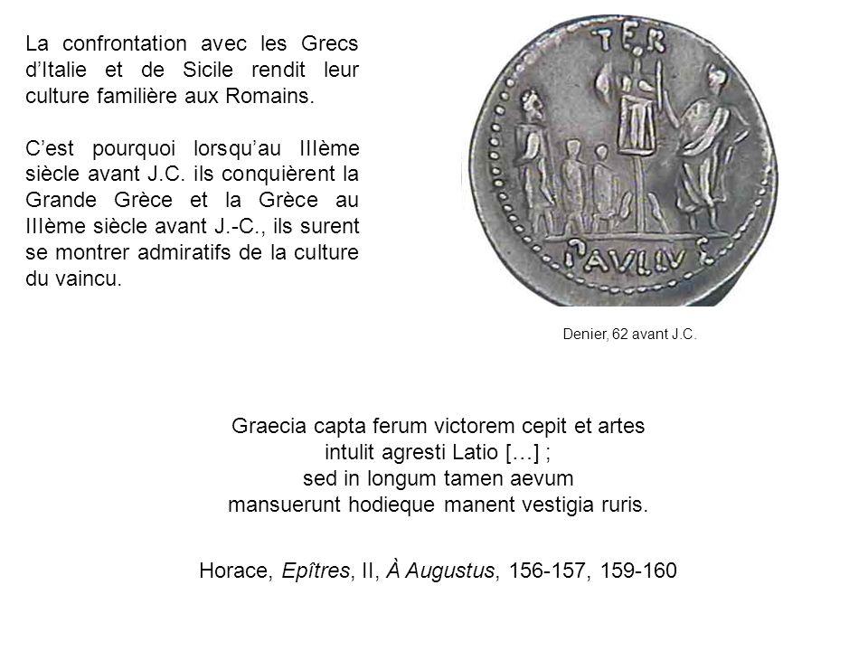 Graecia capta ferum victorem cepit et artes