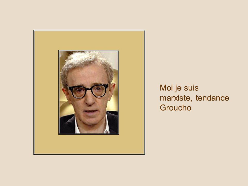 Moi je suis marxiste, tendance Groucho