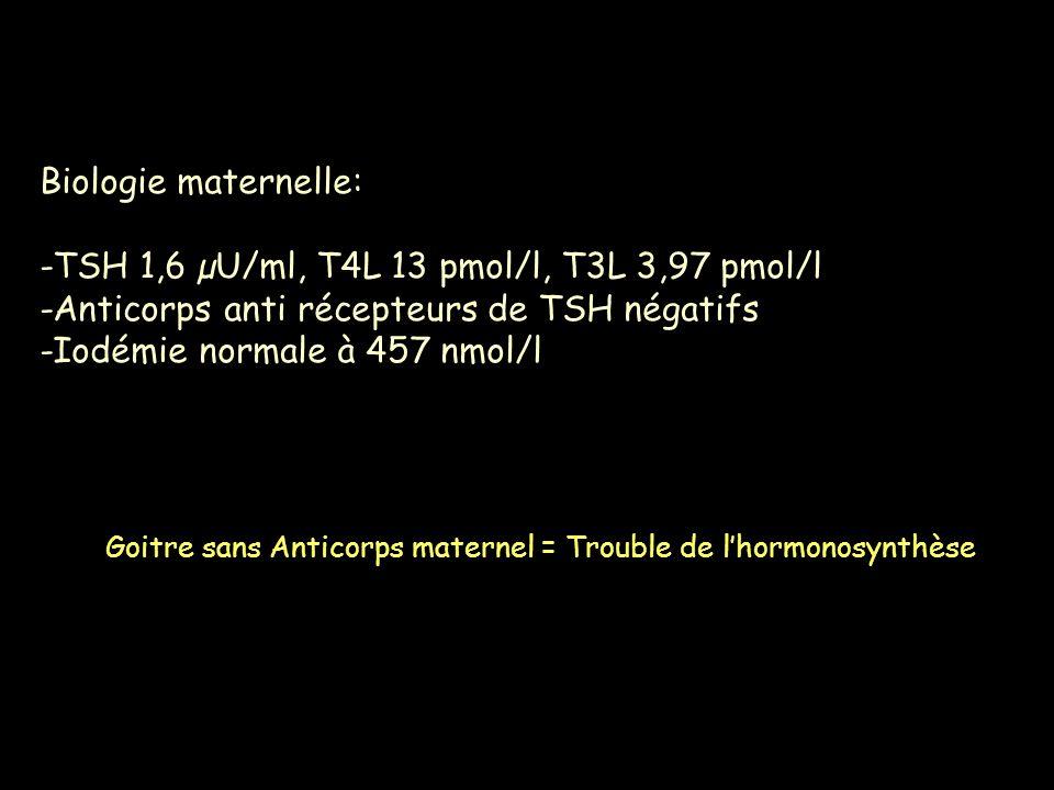 -TSH 1,6 µU/ml, T4L 13 pmol/l, T3L 3,97 pmol/l
