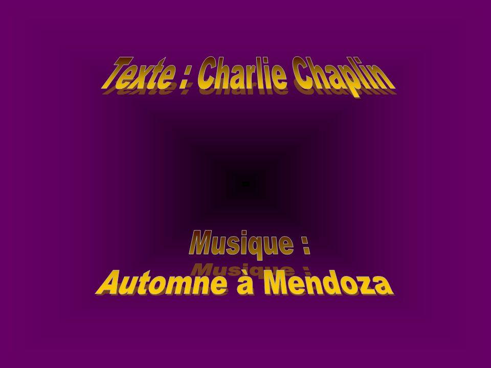 Texte : Charlie Chaplin