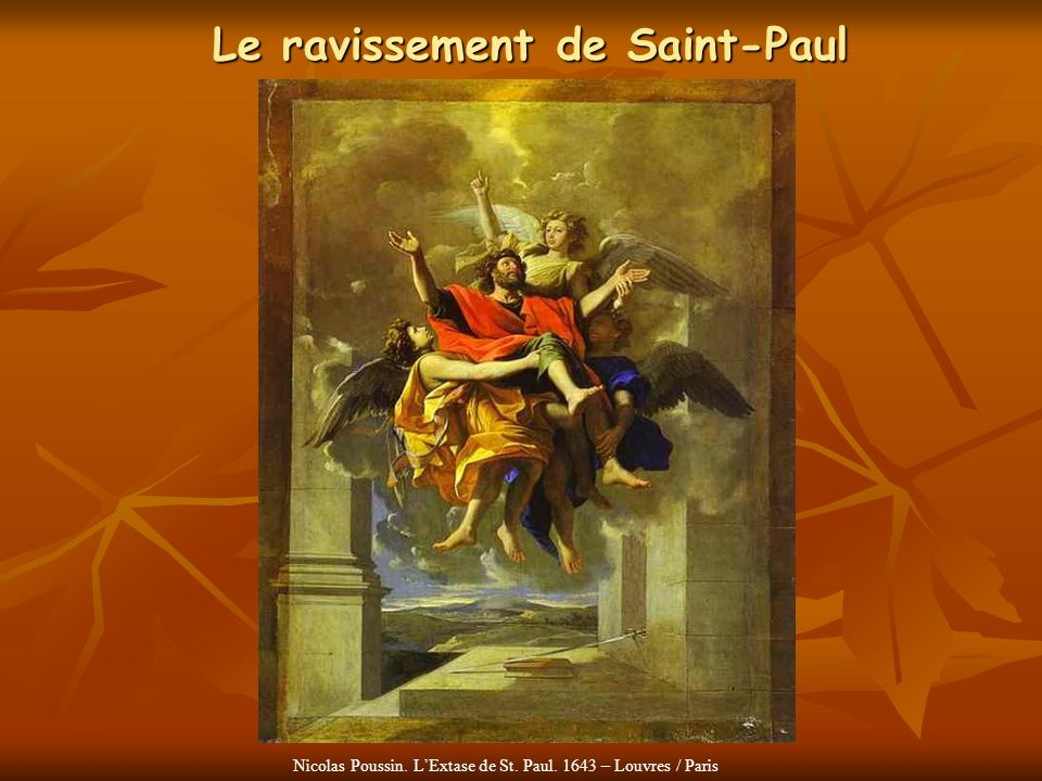 Le ravissement de Saint-Paul