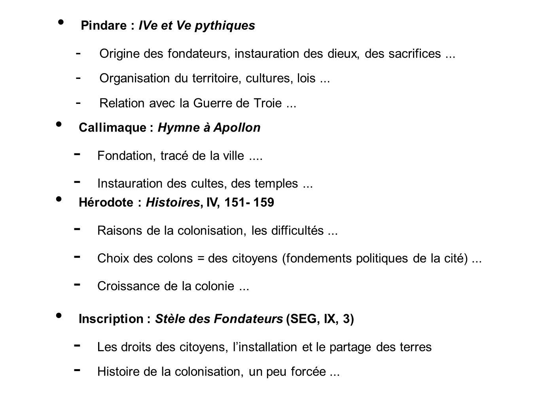 Pindare : IVe et Ve pythiques