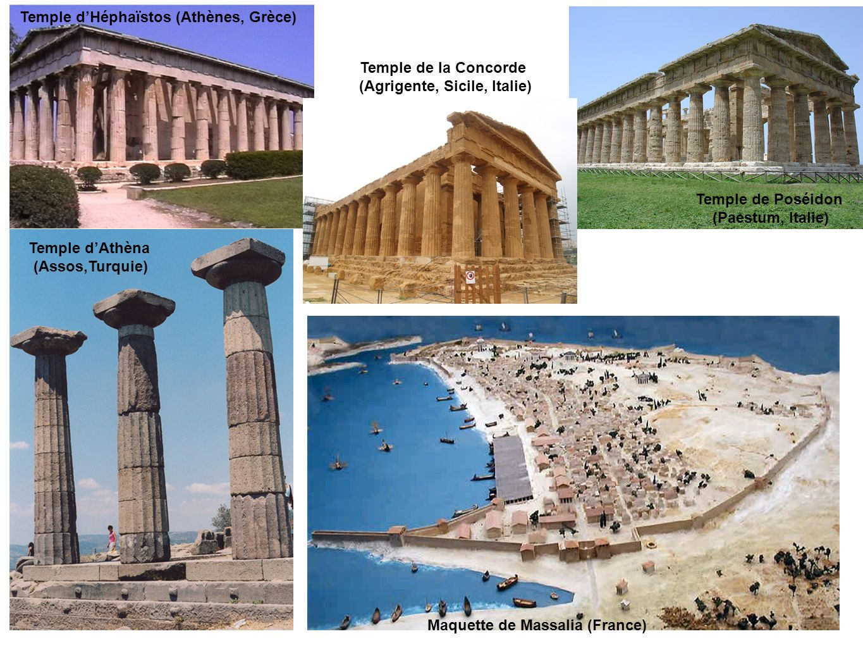 Temple d'Héphaïstos (Athènes, Grèce)