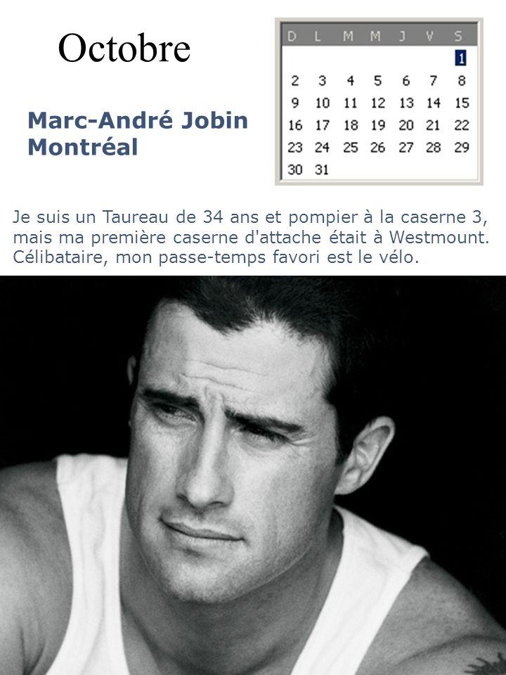Octobre Marc-André Jobin Montréal
