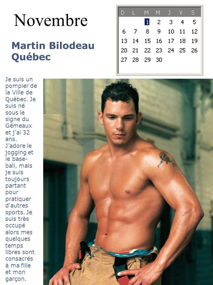 Novembre Martin Bilodeau Québec