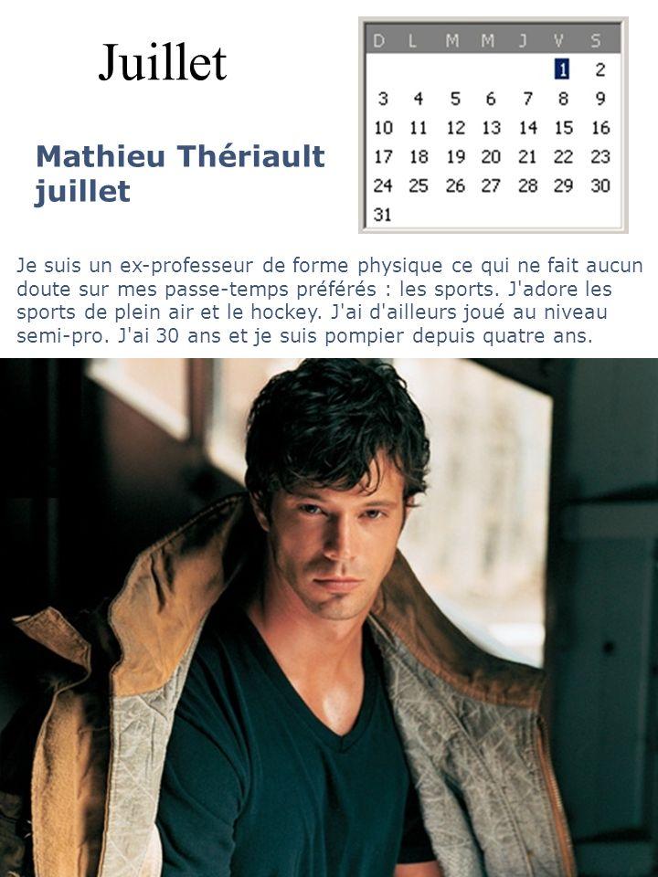 Juillet Mathieu Thériault juillet