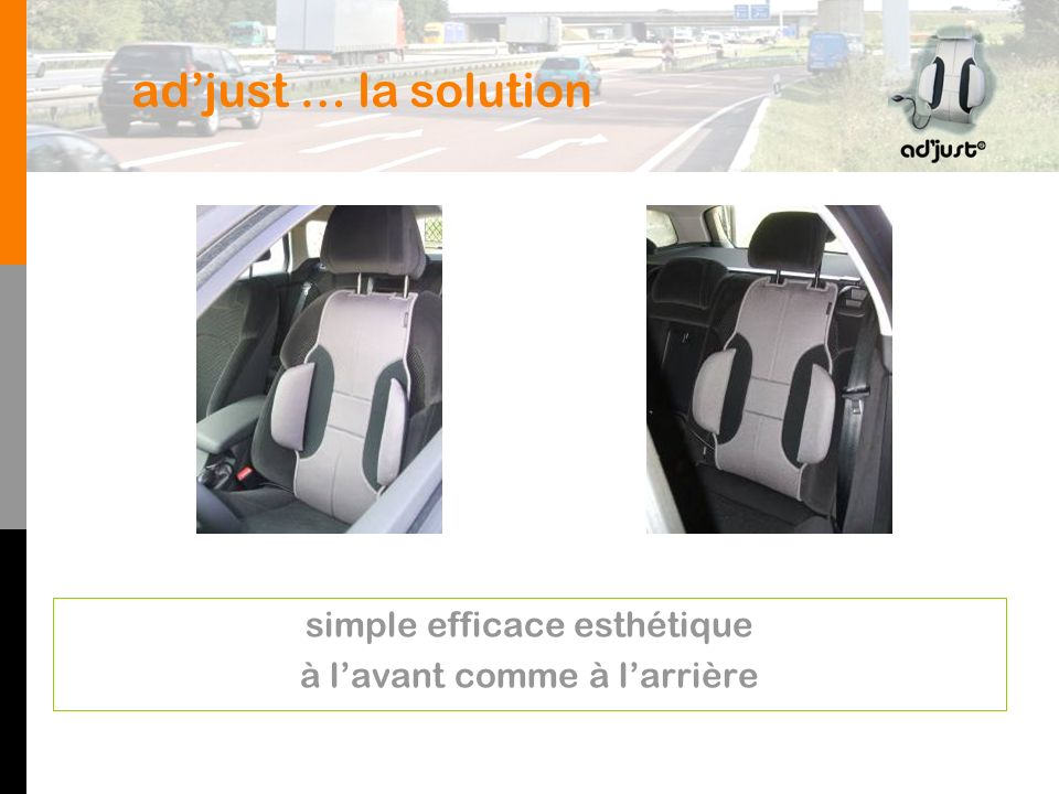 ad'just … la solution simple efficace esthétique