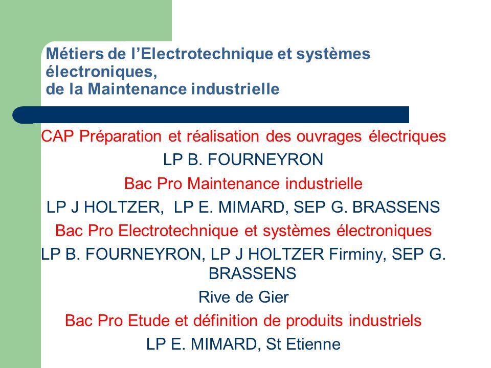 CAP Préparation et réalisation des ouvrages électriques