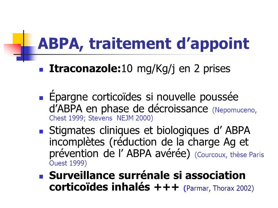 ABPA, traitement d'appoint