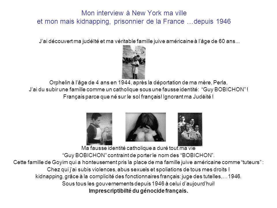 Imprescriptibilté du génocide français.