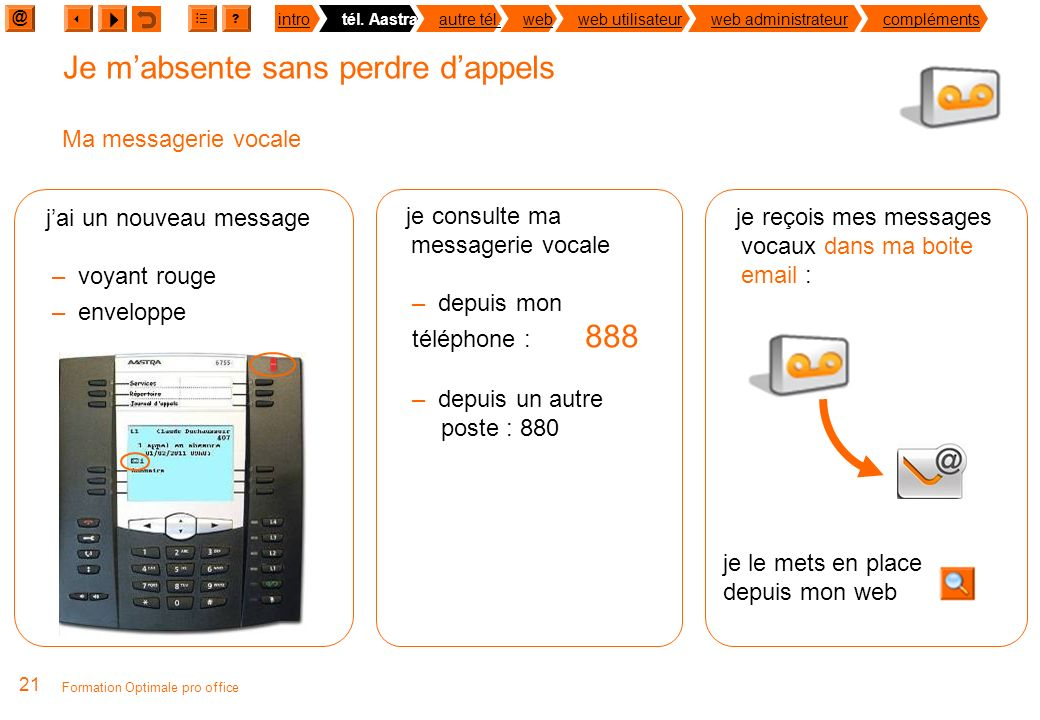 Guide de formation optimale pro office et orange open pro office ppt t l charger - Je suis absent du bureau ...