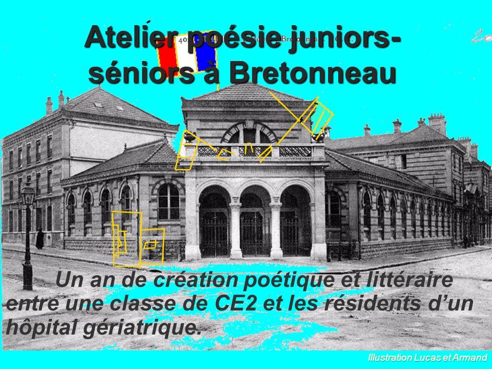 Atelier poésie juniors-séniors à Bretonneau