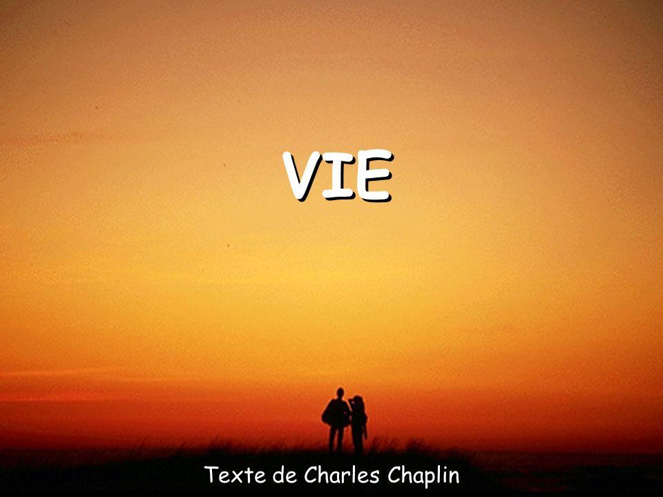 Texte de Charles Chaplin