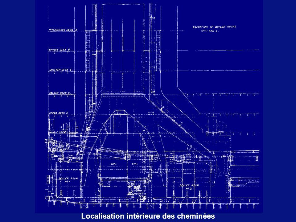 Localisation intérieure des cheminées