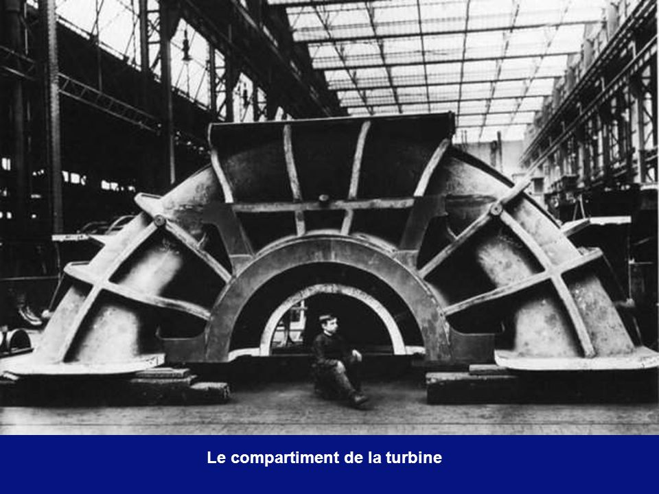 Le compartiment de la turbine