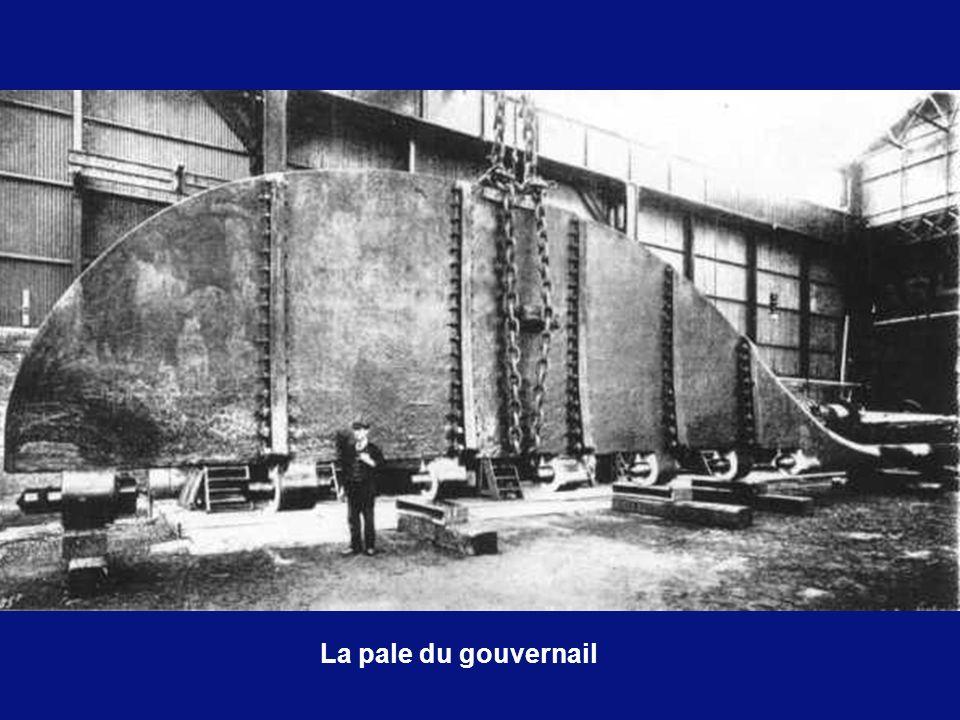 La pale du gouvernail