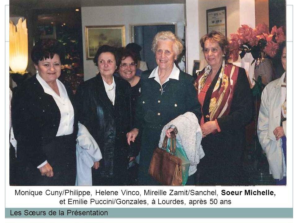 et Emilie Puccini/Gonzales, à Lourdes, après 50 ans