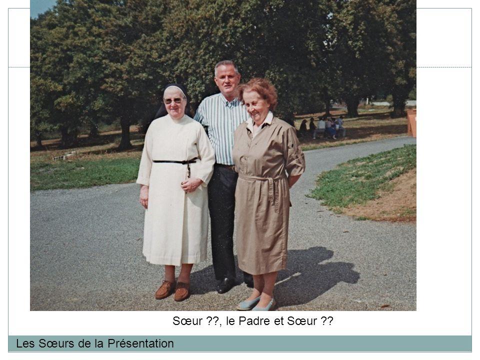 Sœur , le Padre et Sœur Les Sœurs de la Présentation