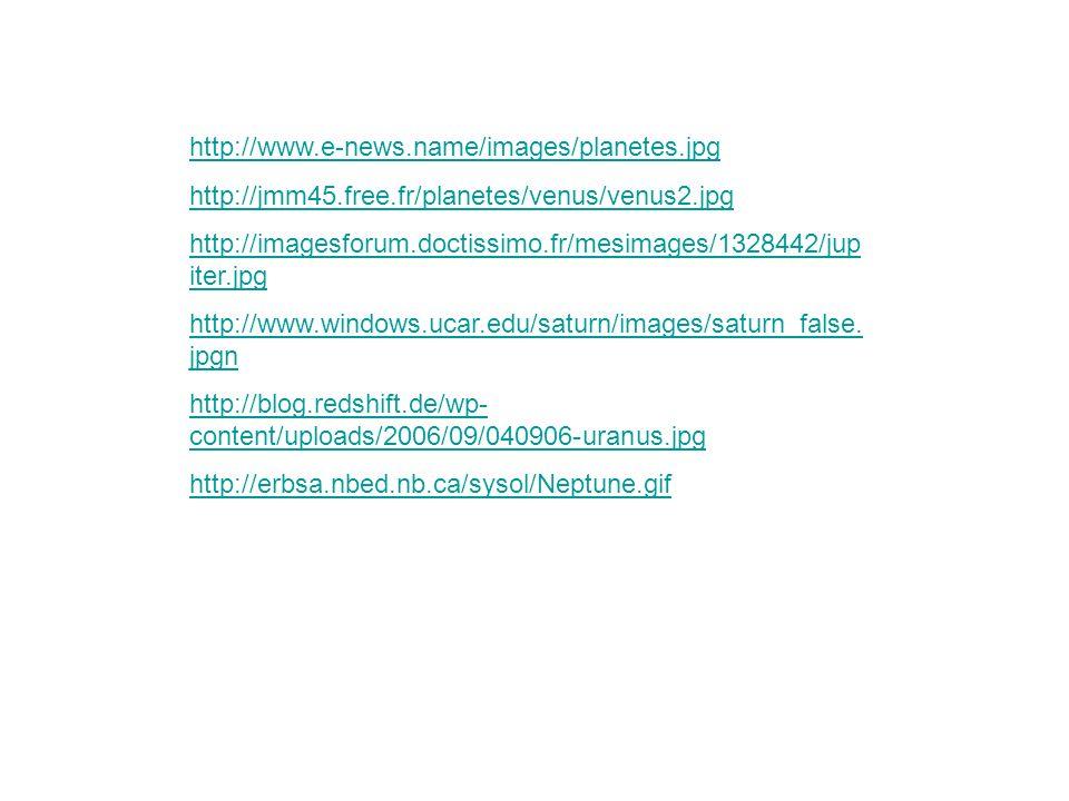 http://www.e-news.name/images/planetes.jpg http://jmm45.free.fr/planetes/venus/venus2.jpg.