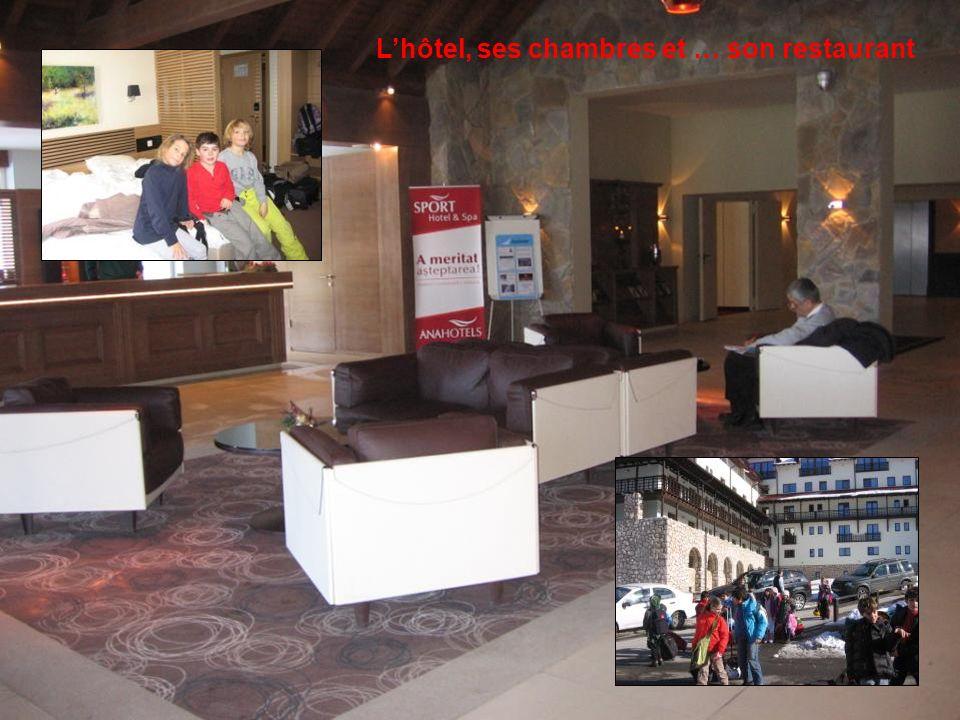 L'hôtel, ses chambres et … son restaurant