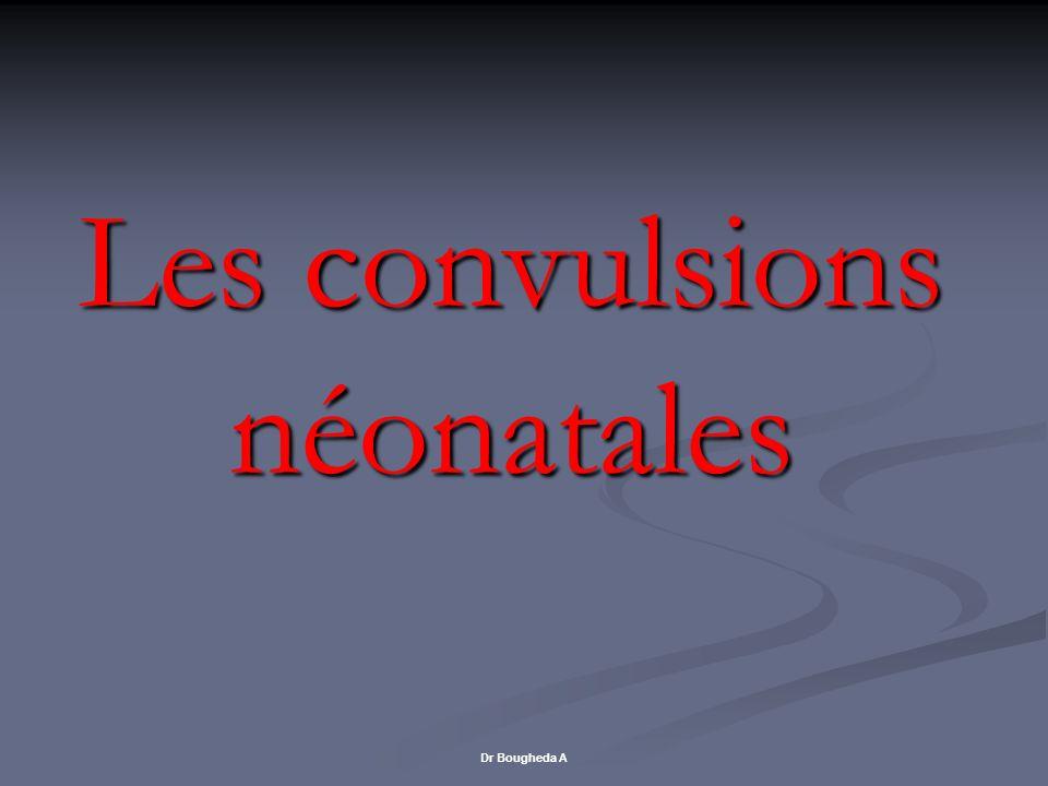 Les convulsions néonatales