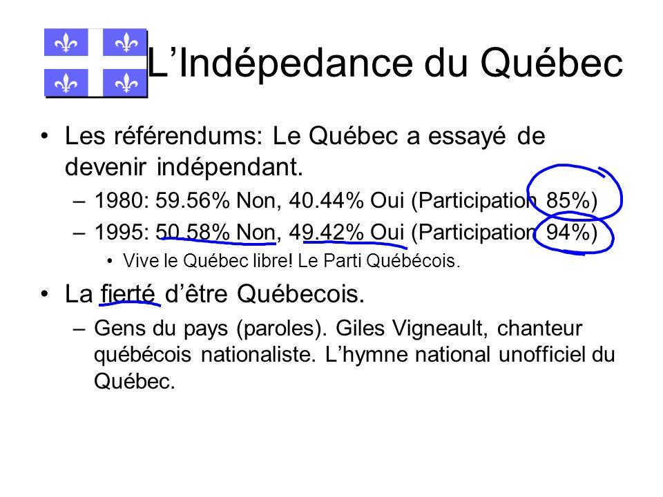 L'Indépedance du Québec