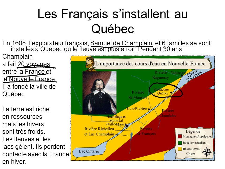 Les Français s'installent au Québec
