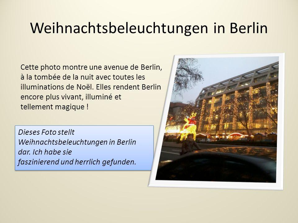 Weihnachtsbeleuchtungen in Berlin