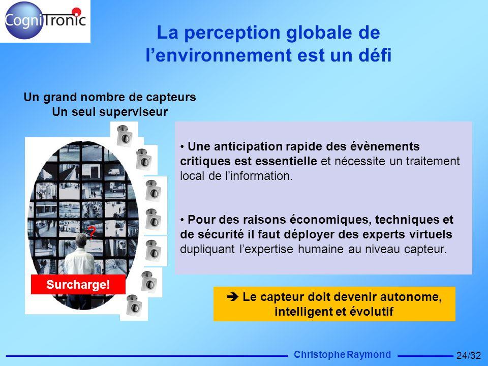 La perception globale de l'environnement est un défi