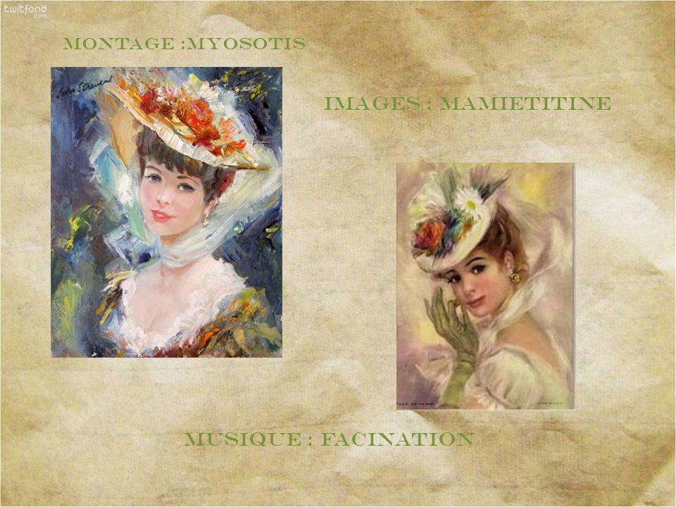 Montage :myosotis Images : mamietitine musique : Facination