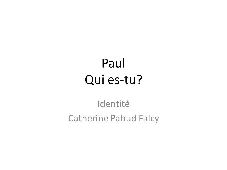 Identité Catherine Pahud Falcy