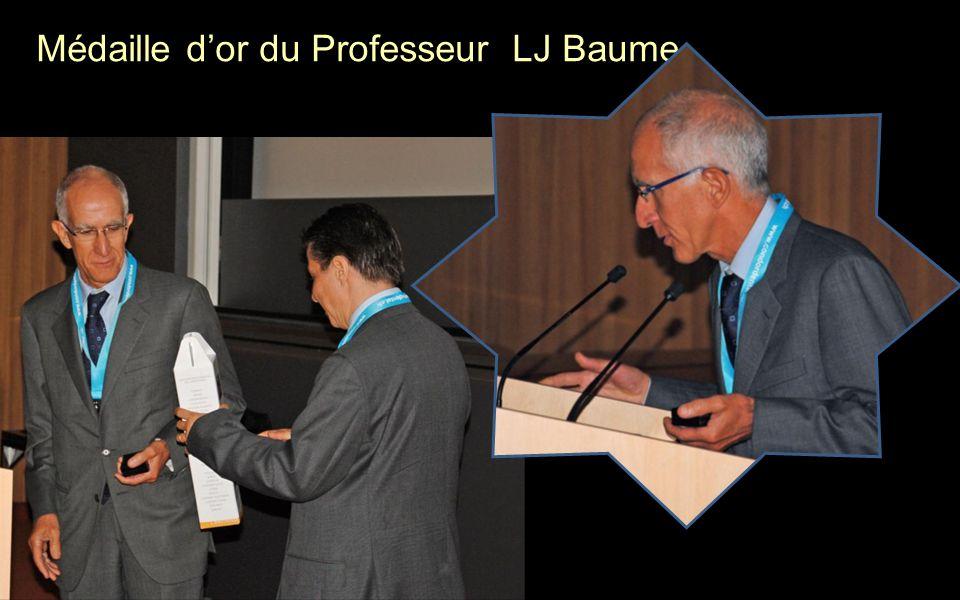 Médaille d'or du Professeur LJ Baume