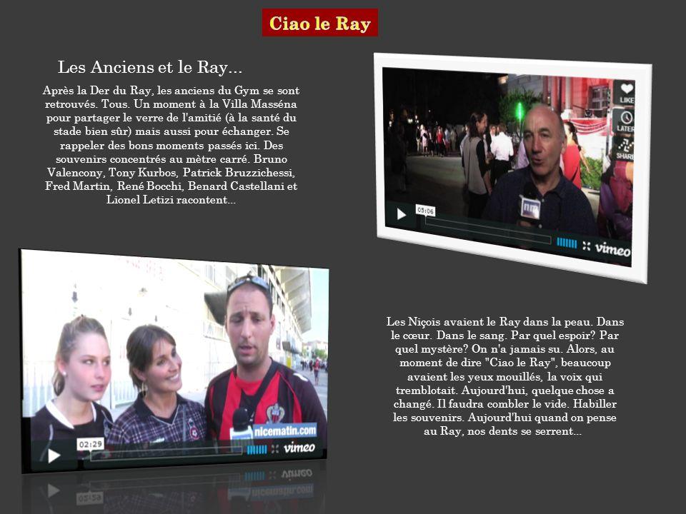 Ciao le Ray Les Anciens et le Ray...